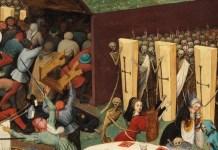 El triunfo de la muerte, (1562), Peter Brueghel el viejo, Museo nacional del Prado