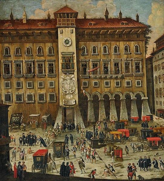 Tribunal napolitano de la Vicaria (Carlo Coppola, primera mitad del siglo XVII), Museo de San Martino, Nápoles