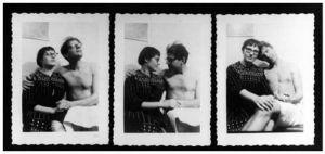 Elise Cowen y Allen Ginsberg, dos de los miembros de la Generación Beat