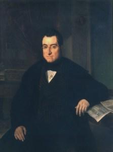 Retrato de Bonaventura Carles Aribau en 1844 (Joaquim Espalter) | Wikimedia
