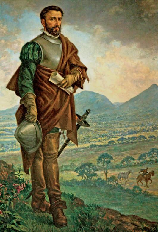 Don Gonzalo Jiménez de Quesada en Colombia. Ambrosio Von Alfinger