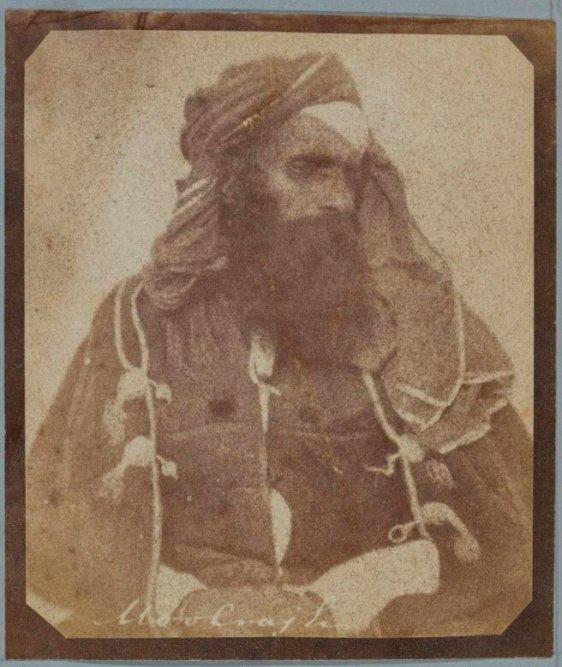 Mul Raj de Diwan. Fotografía de guerra