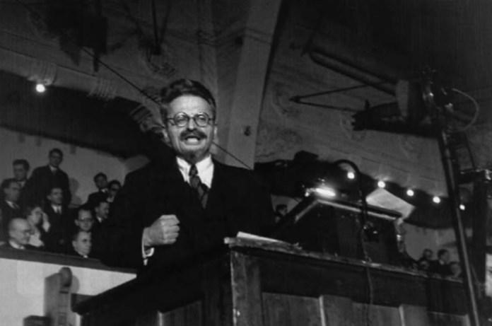 Trotsky en Copenhage, 1932. Robert Capa