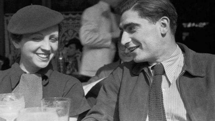 Gerda y Andre. Robert Capa. París. 1936