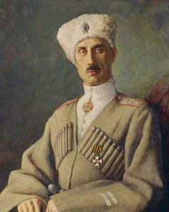 Retrato de Piotr Wrangel, 1920