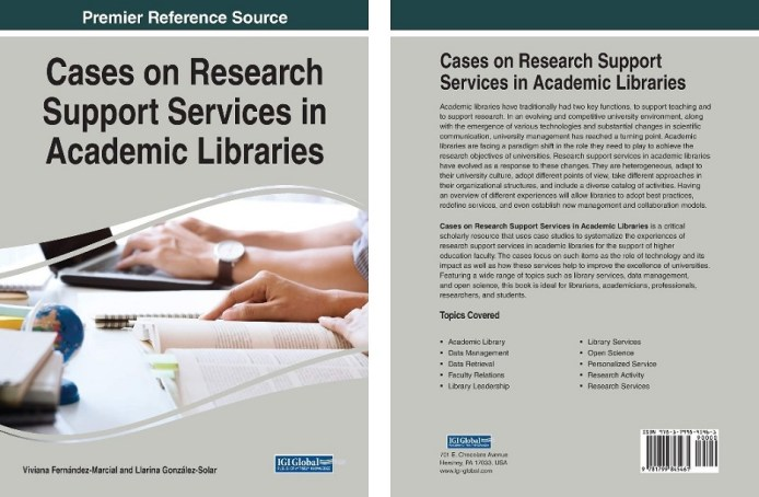 Cases on research support in academic libraries