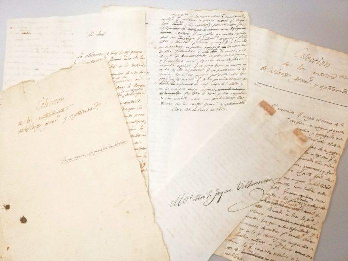 Manuscrito de Móstoles: antecedentes de la convocatoria y constitución de las Cortes Generales y Extraordinarias de Cádiz