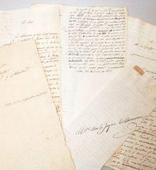Manuscrito de Móstoles: antecedentes de la convocatoria y constitución de las Cortes Generales y Extraordinarias de Cádiz (Archivo Regional de la Comunidad de Madrid)