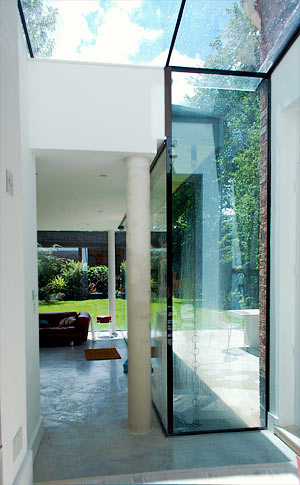Listed House Extension Contemporary Glass Extension And