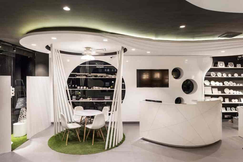Disha Electrical Lighting Store Pristine Retail Interiors By