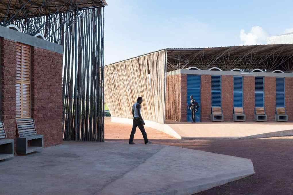 Ring shaped Lycee Schorge Secondary School Francis Kere Architecture Burkina Faso Archute 15