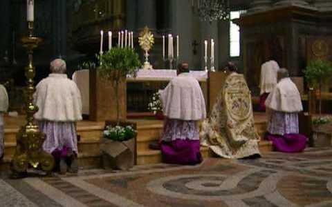Vespri Pontificali della Pasqua