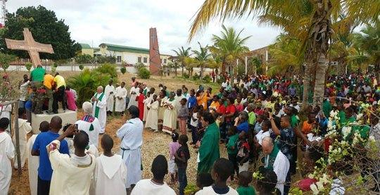 Conclusione  della Missione Popolare ad Inhassoro, Mozambico