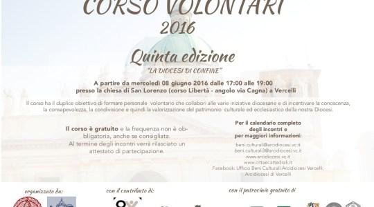 Corso Volontari 2016