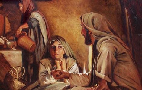 XVI domenica tempo ordinario Lc 10,38-42