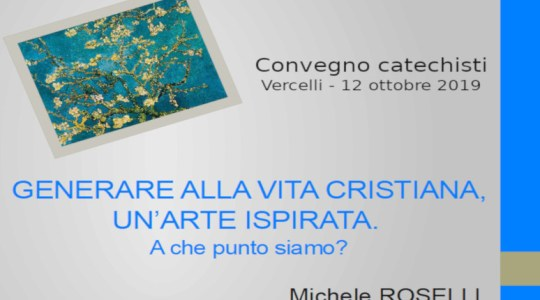 Relazione di don Michele Roselli 12/10/2019