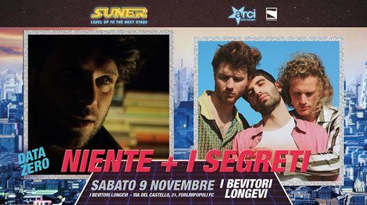 I Segreti + Niente - Live al I Bevitori Longevi