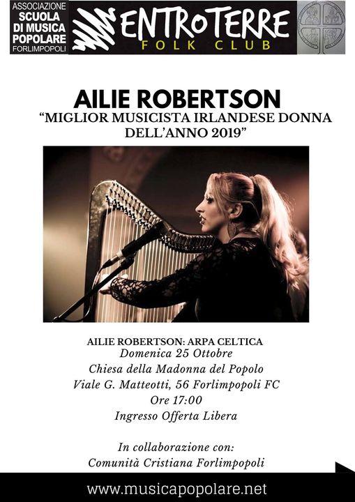 25 Ott 2020 Ailie Robertson in concerto a Forlimpopoli