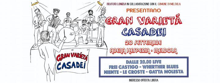 Gran Varietà Casadei live Arena Hesperia