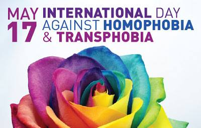 IDAHOBIT   International day against homophobia, biphobia and transphobia