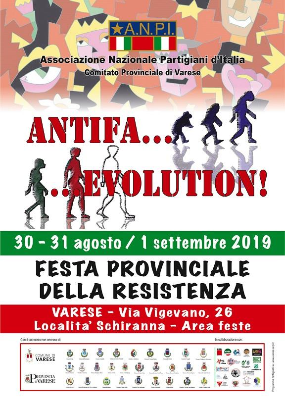 30/08 – 31/08 – 01/09 Festa Provinciale della Resistenza a Varese