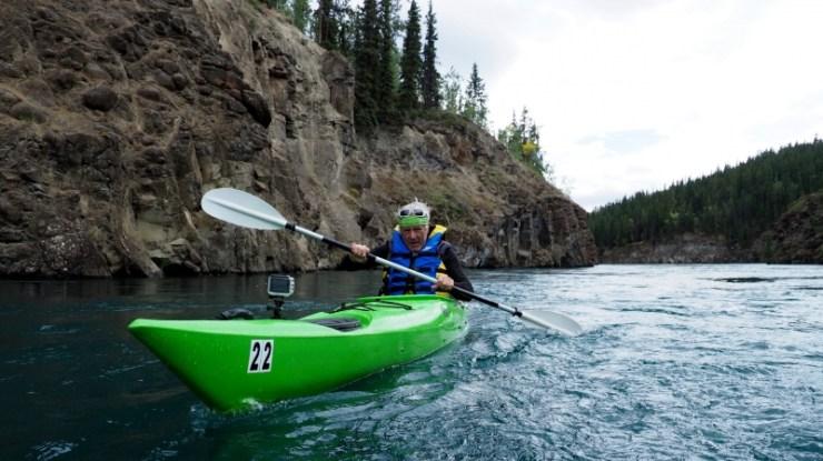 Jean-Philippe Patthey devrait bientôt arriver sur la mer de Béring, terme de son voyage de plus de 3000kilomètres en kayak.