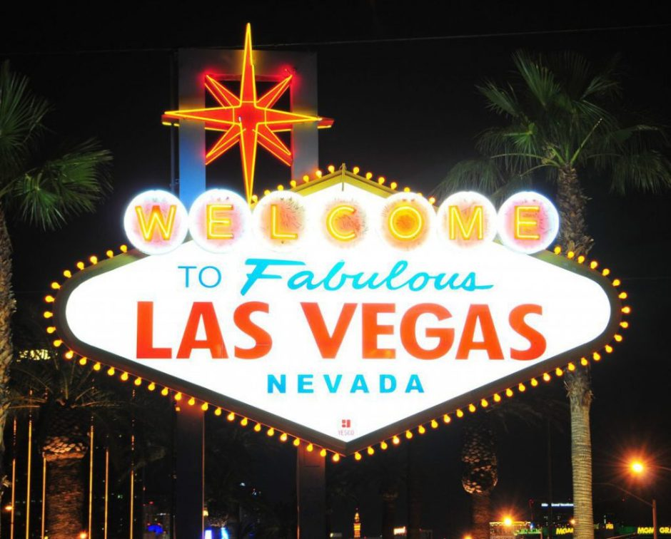 Welcome to Las Vegas Sign - Pubcon 2017