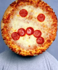 Sad Face Pizza Man