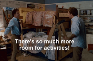 Step Brothers Room for Activities