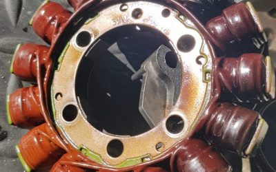 Cooked stator
