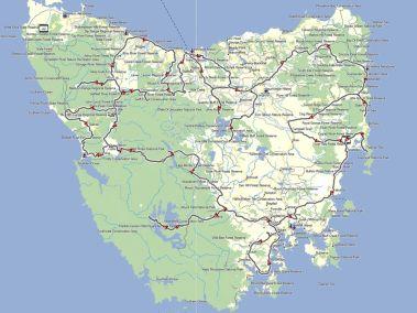 Tassie-Trip-roads-ridden