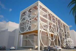 commercial building design lahore