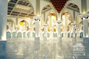 interior design mosque lahore