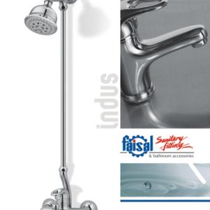Faisal Sanitary Indus lever bath room set 2707