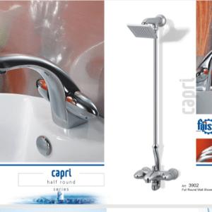 Faisal Sanitary Capri Bath room round set 3907