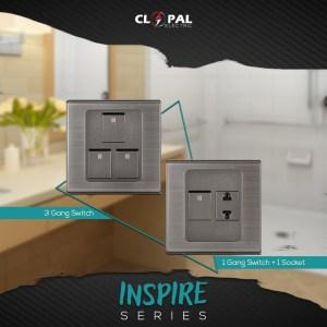 3 gang switches sheet inspire clopal