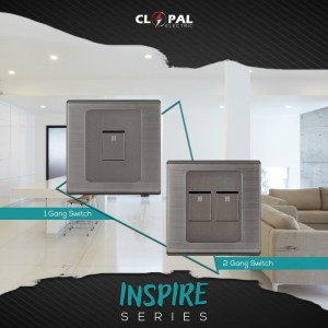 2 switches Inspire series clopal