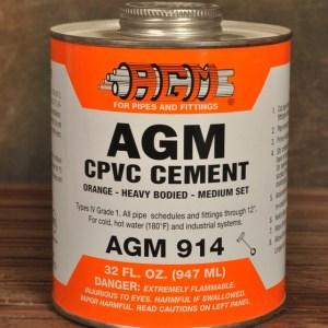 AGM Solvent Cement Cpvc