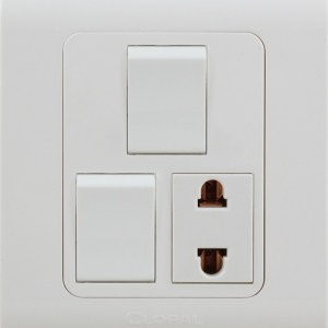 2 switch 1 socket type r clopal