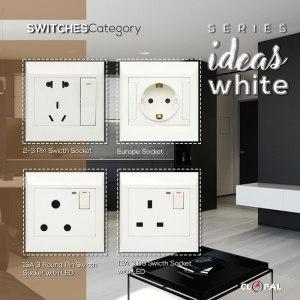 euro amerian bs pp socket ideas white clopal