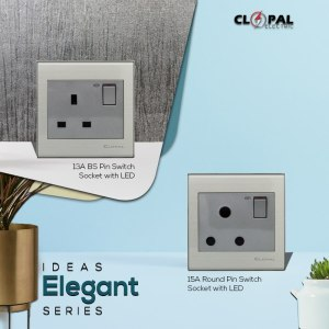 13a bs flat pin socket sheet clopal elegant