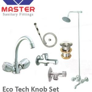 Eco full round cp set master sanitary