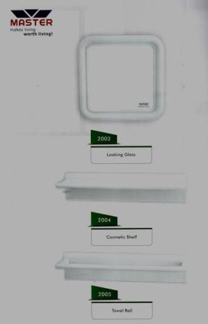 plastic bath room accessories set master