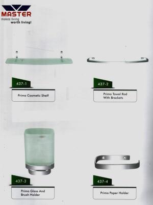 primo bath accessories set master sanitary