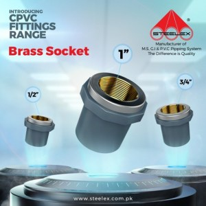 "Steelex brass Female Socket 3/4"""