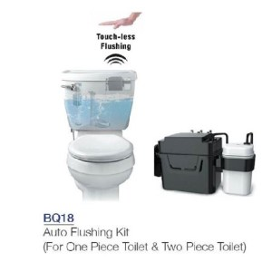 touch less flush tank kit bq18 porta