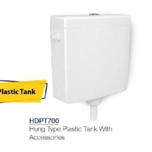 HDPT700 plastic flush tank porta