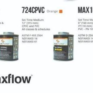 maxflow sch80 solvent