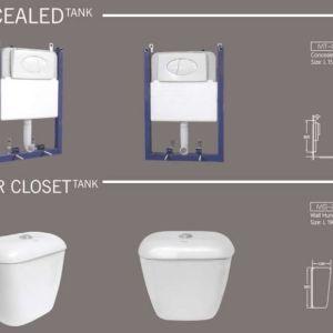 flush tank for wc marachi ceramics