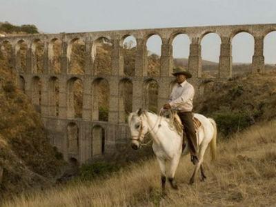 caballos en arcos del sitio